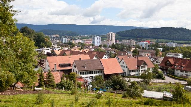 Spreitenbach aus der Ferne