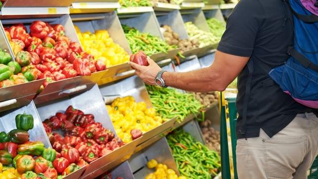 Gemüsekauf