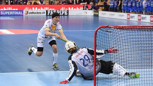Success per las dunnas da Cuira - qua il gol decisiv dal final dal campiunadi svizzer, medemamain cunter Dietlikon ils 30 d'avrigl 2016.