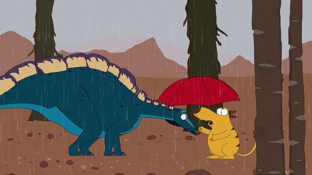 Video «Ralph und die Dinosaurier: Wuerhosaurus (23/26)» abspielen
