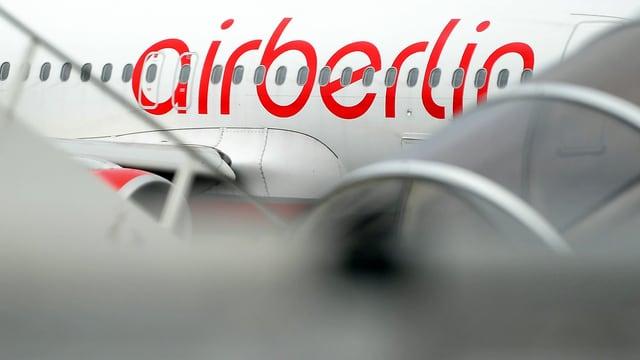 . Eine Maschine der Air Berlin.