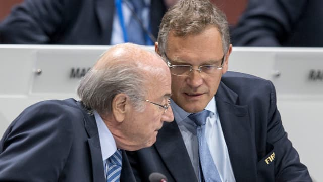 Blatter und Valcke