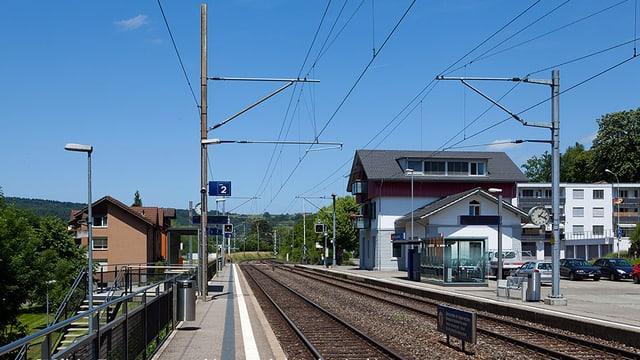 Bahnhof von Schinznach-Bad