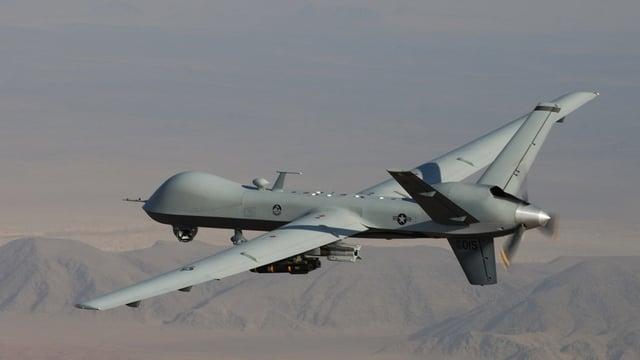 Ina drona, ubain aviun betg equipà durant in'incumbensa en l'Afghanistan.