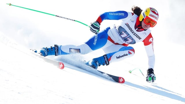 Nadja Kamer fuhr in Garmisch im 2. Training in die Top 10.