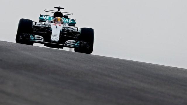 Lewis Hamilton in den Trainings zum GP der USA