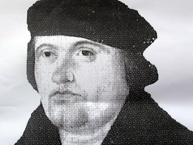 Der unbekannte Schaffhauser Reformator Sebastian Hofmeister.
