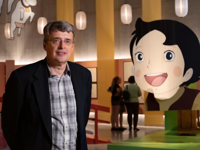 Hans Bjarne Thomsen, professer a l'Universitad da Turitg