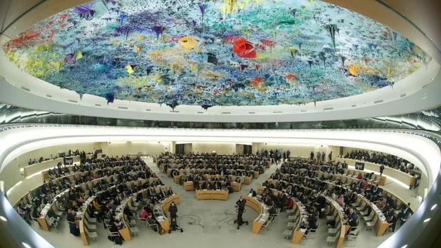 Diskussion im UNO-Menschenrechtsrat