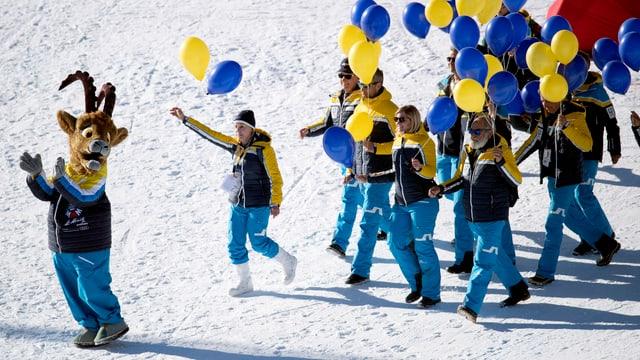 Blers millis fans da skis han giudì duas emnas da sport da skis.