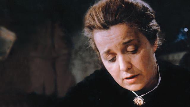 Portrait von Margrit Winter als Änneli im Film «Geld und Geist» von Franz Schnyder aus dem Jahr 1964.
