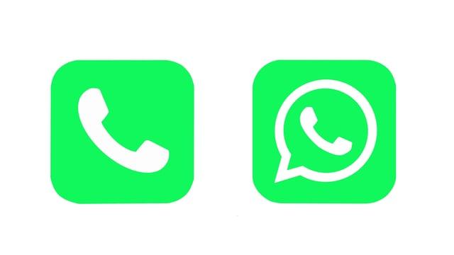 Telefon-Symbole.