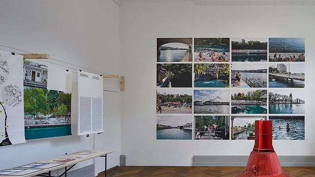 Ein Ausstellungsraum