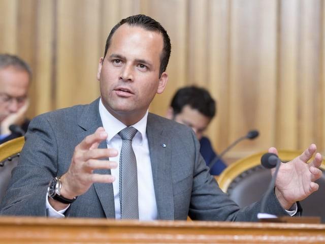 Der Luzerner Ständerat Damian Müller, FDP.