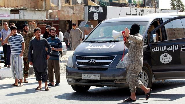 IS-Anhänger mit Lautsprecher