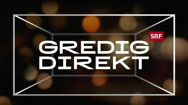 Keyvisual der Sendung Gredig direkt