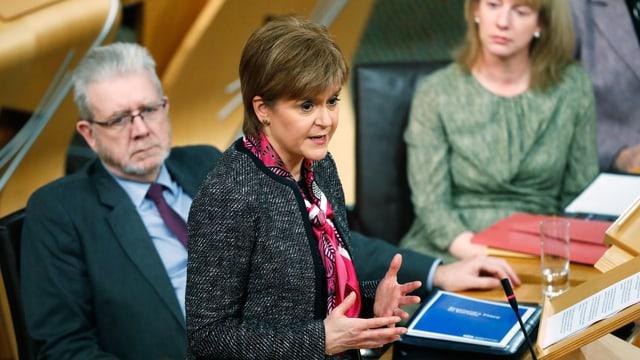 Das in Edinburgh vorgestellte Grundsatzpapier «Schottlands Platz in Europa» soll Wege aufzeigen.