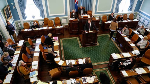 Isländisches Parlament