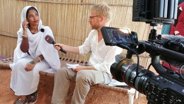 Interview mit Alaa Salah