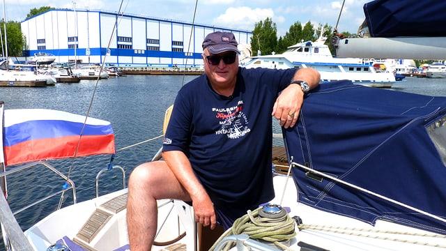 Roland Lei ist leidenschaftlich gerne auf dem Wasser unterwegs