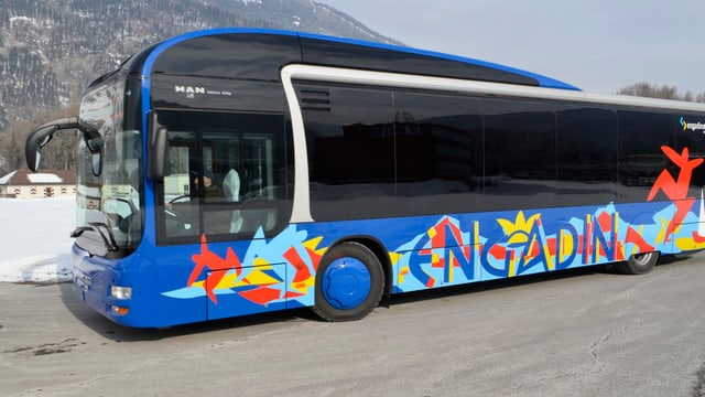 Il Bus da Cuira ha transportà en l'Engiadin'Ota 200'000 passagiers dapli ch'anc il 2013.