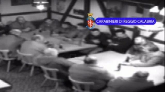 «Operazione Helvetica» in Frauenfeld: Mutmassliche Mitglieder der kalabresischen 'Ndrangheta bei einem Treffen.
