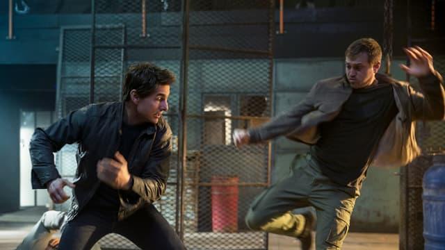 Tom Cruise ist in einer Schlägerei verwickelt.