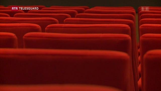 Purtret dal kino Cinéma Rex.