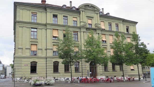 Das Gebäude von aussen