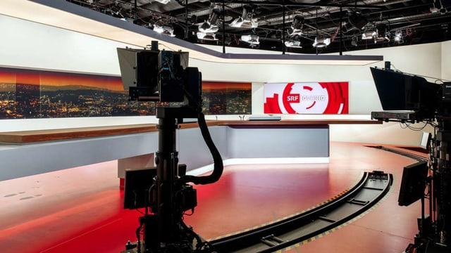 Die «Tagesschau»-Hauptausgabe um 19.30 Uhr konnte am Montagabend mit ein paar kleineren Beeinträchtigungen live gesendet werden.