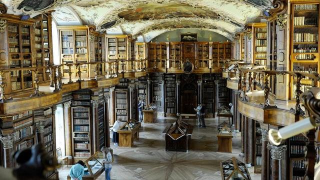 Die St. Galler Stiftsbibliothek