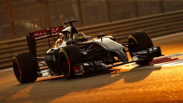 Ein Auto von Team Sauber.