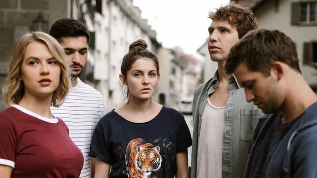 Die fünf Hauptdarsteller der neuen Staffel von «Nr. 47»