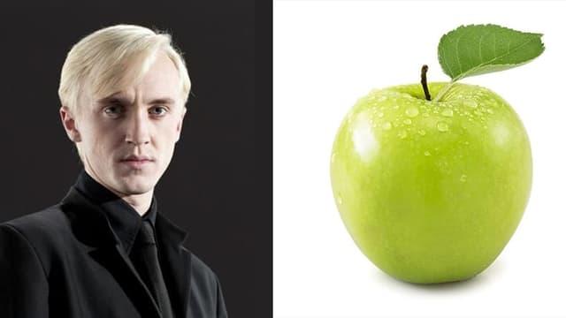 Draco Malfoy und ein Apfel