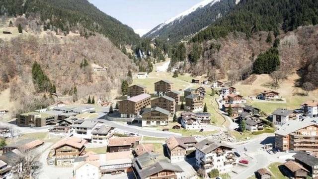 Ina visualisaziun dal resort da vacanzas per famiglias ch'ils da Claustra han approvà la fin november.