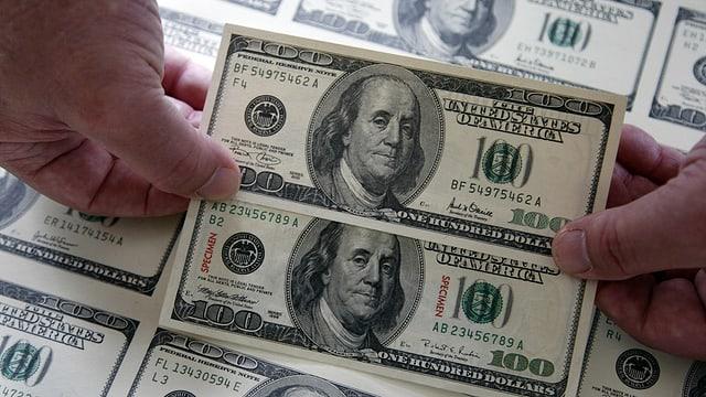US-Dollar-Noten.
