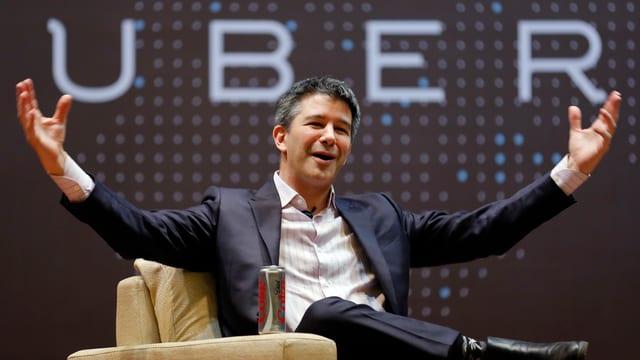 Uber-CEO Travis Kalanick.