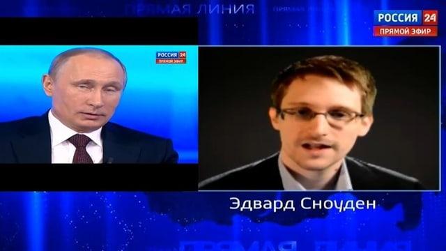 Snowden spricht mit Putin