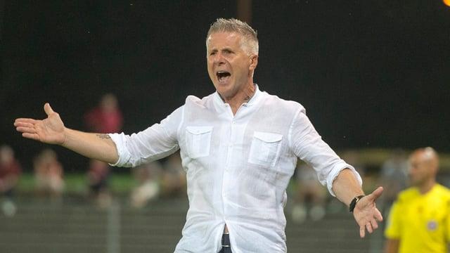 Livio Bordoli, trenader relaschà dal FC Aarau.