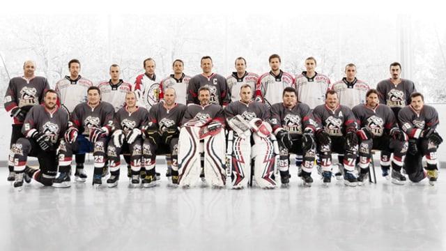 Mannschaftsfoto EHC Vogelsang Bulls