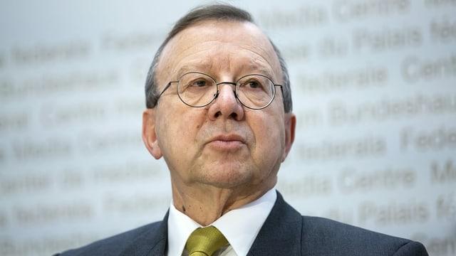Alt Diplomat Paul Widmer