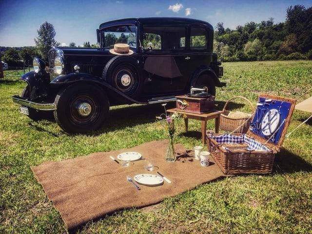 Picknick wie vor 80 Jahren