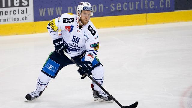 Jesse Zgraggen steht ab kommender Saison beim EV Zug unter Vertrag.