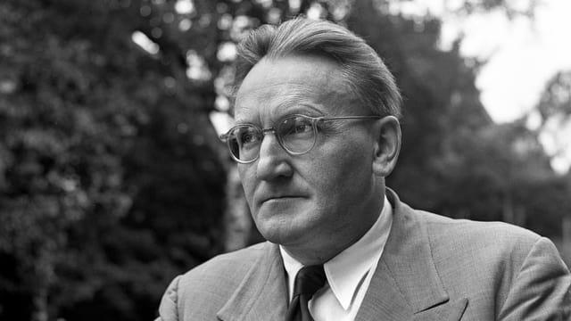 Porträt von Hermann Scherchen.
