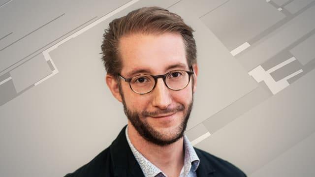 Porträtaufnahme von Gutersohn.