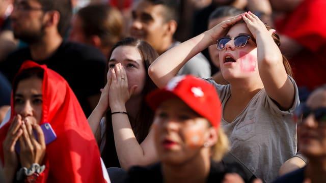 Fans der Schweizer Fussballnati