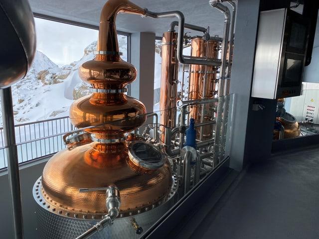 Cundriz da destillaziun dad arom.