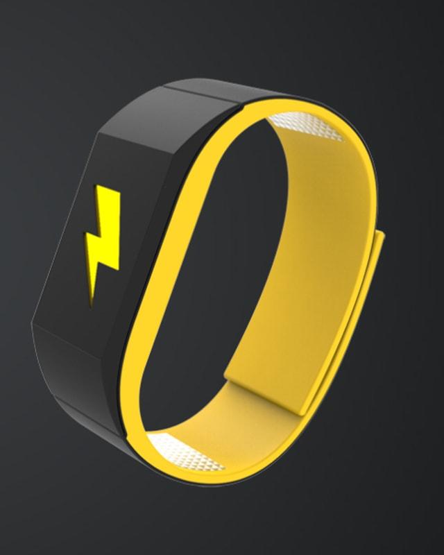 Armband mit Blitz-Symbol