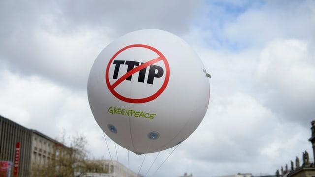 TTIP-ballon