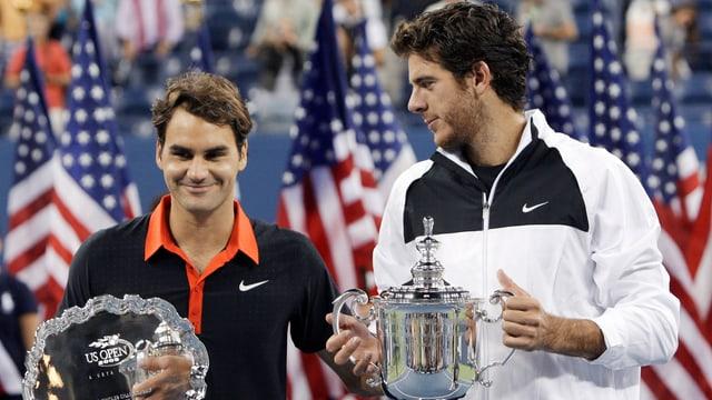 Juan Martin Del Potro entthronte 2009 Seriensieger Roger Federer in einem packenden 5-Satz-Final.